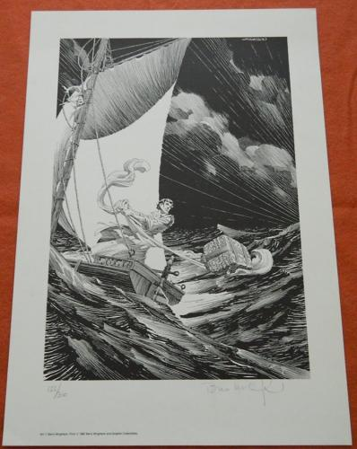 Cast Into the Sea1987 printSigned #155/300