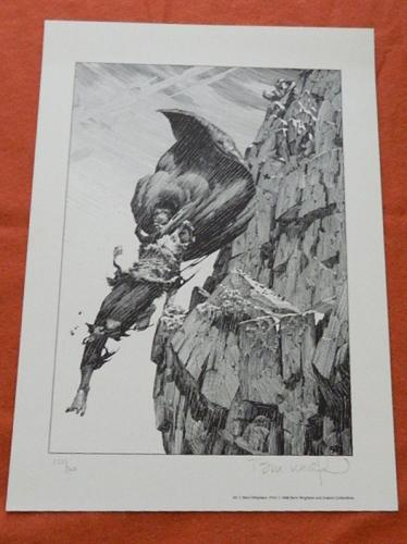 Descending the Mountain1987 printSigned #155/300