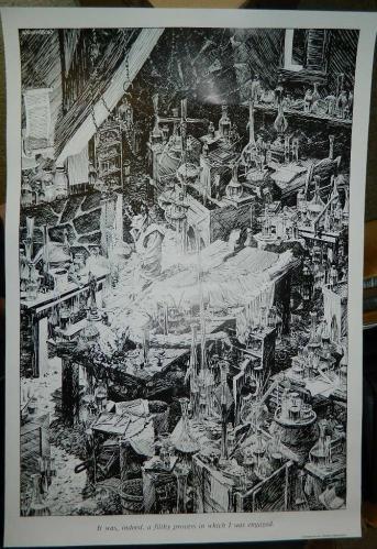 Frankenstein LabPosterGlimmer Graphics