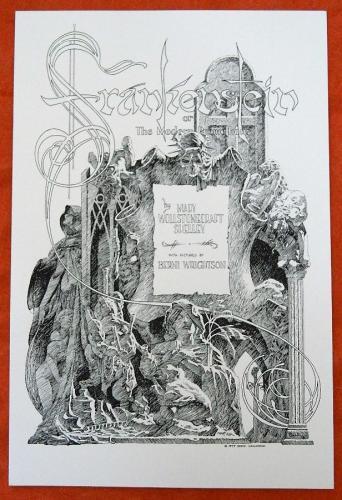 Frankenstein Frontis PiecePrint - Nakatomi