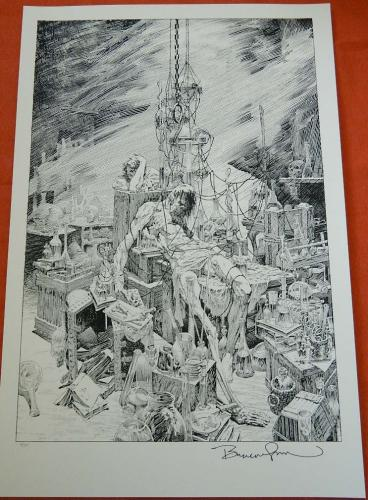 Torrent of LightPrint - NakatomiSigned numbered to 160