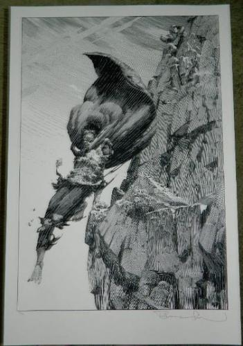 Flight of an EaglePrint - NakatomiSigned #35/50