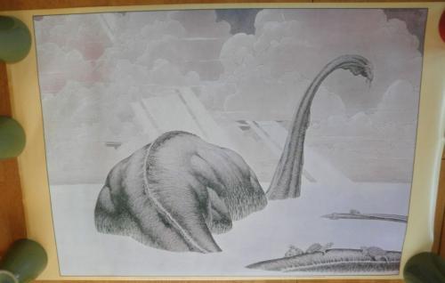 """Diplodocus PosterBig O 197923""""x35"""" DD15"""