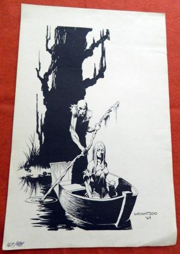 Creepy limited edition print 1969#167/484