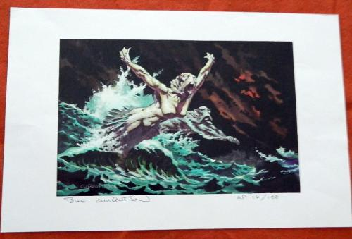 Convention printNight Surf printSigned #16/100