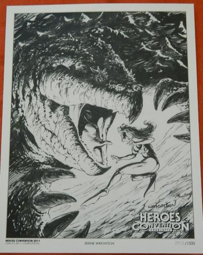 Heroes Con print2011 #253/1000