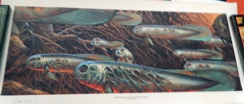 Meltification of the Loathesome Fishes1993 Glimmer GraphicsSigned #28/100