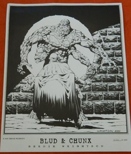 Blud & Chunk print#620/1000