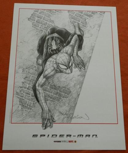 Spider ManSigned Poster