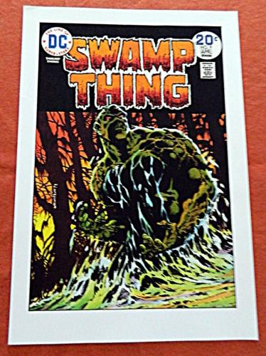 Swamp Thing #9Cover Print