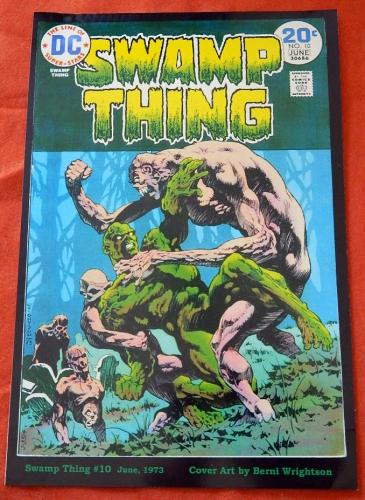 Swamp Thing #10Cover Print