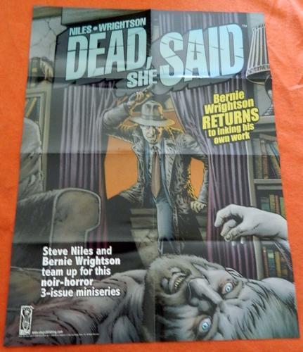 Dead She SaidPoster