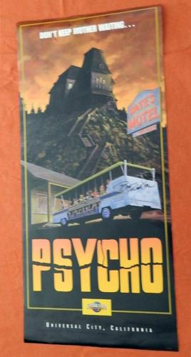 Psych PosterUniversal StudiosSigned