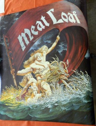 Meatloaf Dead RingerAlbum Poster