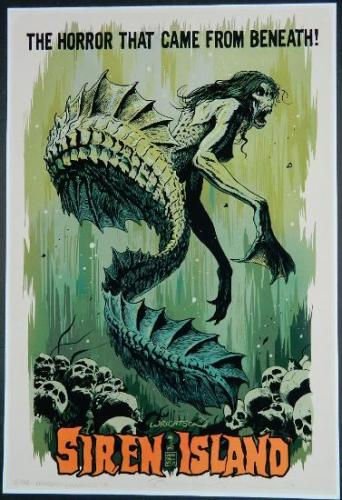 "Convention Print2014 Mondo Conw/ Fransesco Francavilla13""x19"" #6/100 signed by both"