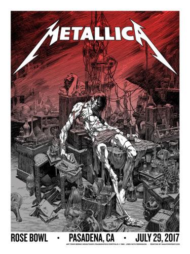 Metallica Concert PosterNakatomi 6/29/2017