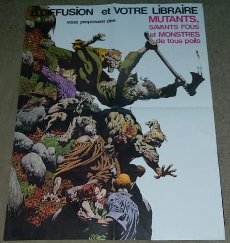 "French Mutants Poster24""x32"" book store"
