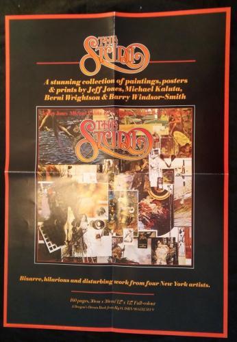 "Studio Promo Poster1979 Big-O 16 1/2""x23 1/2"""