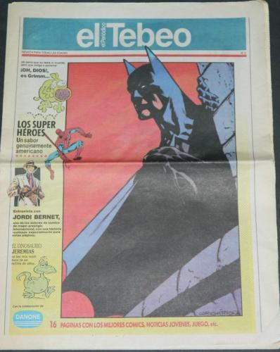 el TebeoSunday paper insertcover