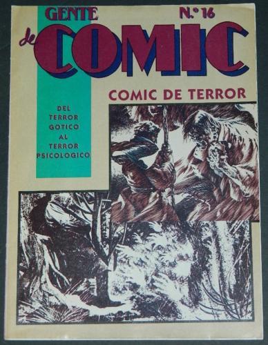 Comic De Terror #16Flyer - magazine sizeCover