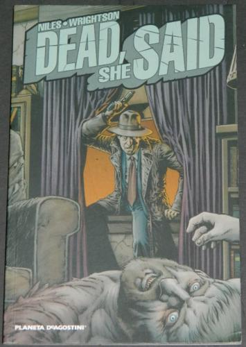 Dead She SaidPlaneta DeAgostiniGraphic Novel