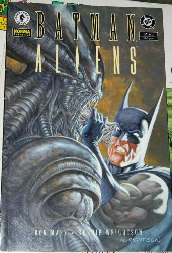 Batman Aliens #2Spain