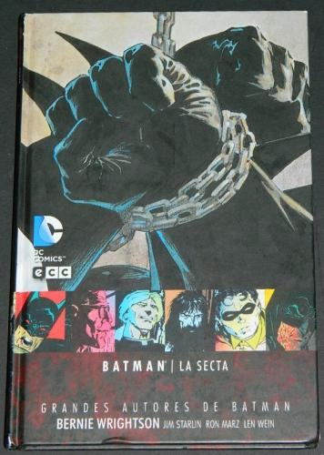 Batman the CultSpain - hard coverplates from Hidden Treasures and Swamp Thing #7