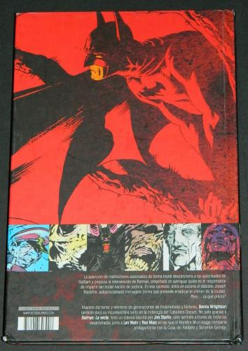 Batman the CultBack cover