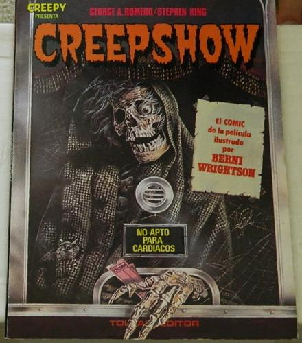 CreepshowSpain - soft cover