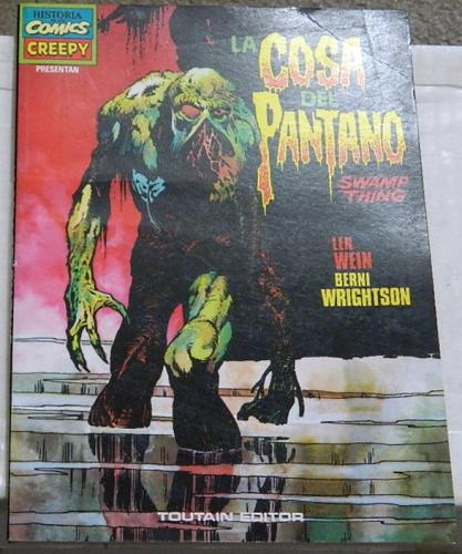 La Cosa del PantanoSpain - soft coverH.O.S. #92, Swamp Thing #1 - #4
