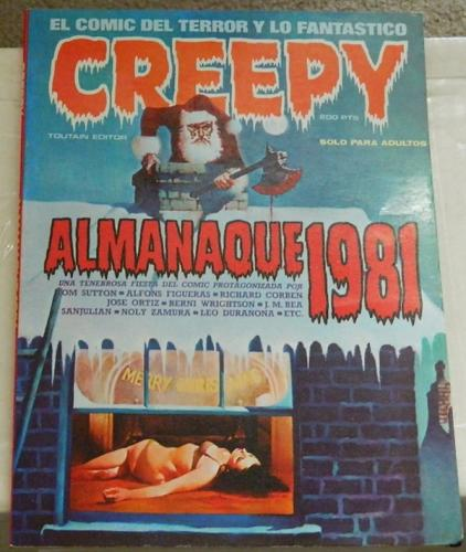 "Creepy Almanaque 1981Spain""Muck Monster"""