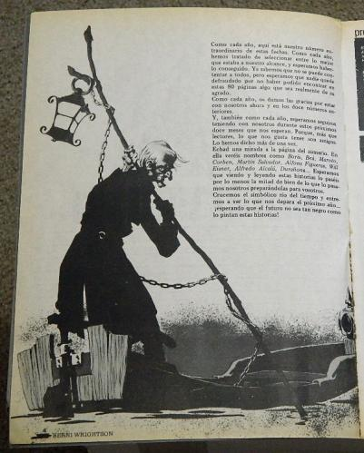 Creepy Almanaque 1982intro page