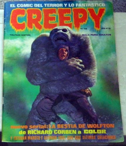 "Creepy #14Spain - Aug. 1981""Jenifer"""