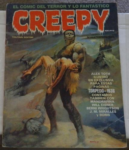 "Creepy #32Spain - Feb. 1982""Freak Show Pt.2"""