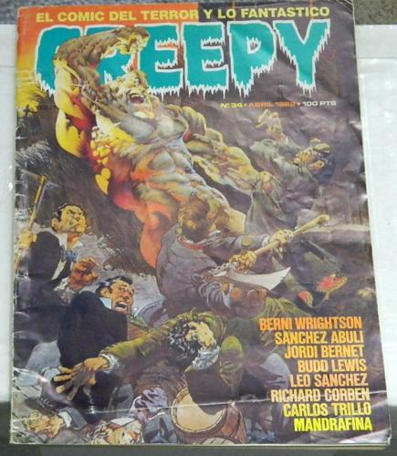 "Creepy #34Spain - Mar. 1982""Freak Show Pt.4"""