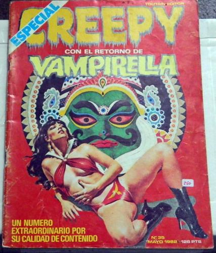 "Creepy #35Spain - May. 1982""Freak Show Pt.5"""
