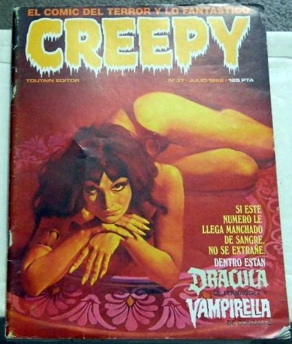 Creepy #37Spain - Jul. 1982prints Creepy #64 & Frontis piece