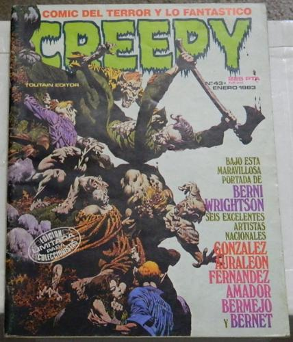 Creepy #43Spain - Jan. 1983cover