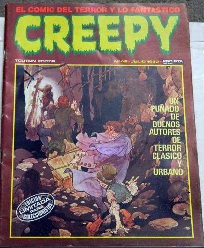 Creepy #49Spain - Jul. 1983cover