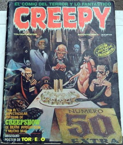 "Creepy #50Spain - Aug. 1983Creepshow ""The Crate"""