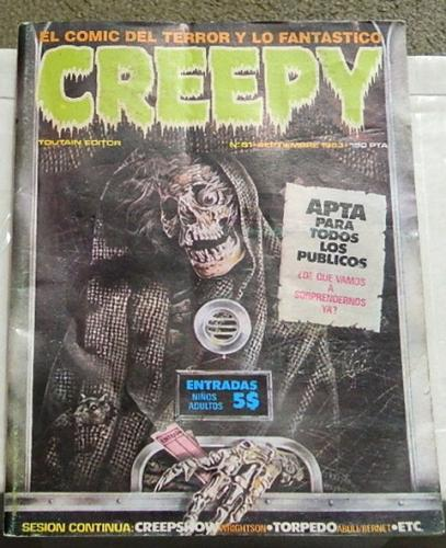 "Creepy #51Spain - Sept. 1983Creepshow ""Father's Day"""