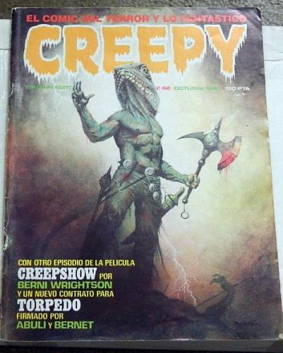 "Creepy #52Spain - Oct. 1983Creepshow ""Something to Tide You Over"""
