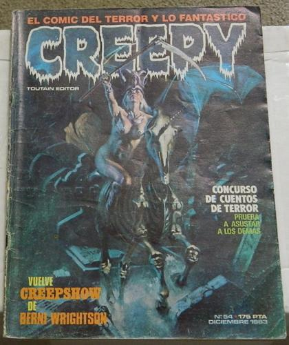 "Creepy #54Spain - Dec. 1983Creepshow ""They're Creeping up on You"""