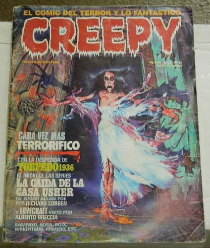 "Creepy #59Spain - May 1984""Love Under Laboratory Conditions"""