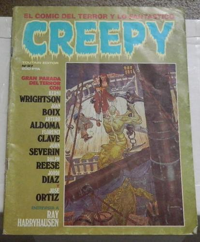 "Creepy #67Spain - Oct. 1984cover, ""Conjure Woman"""