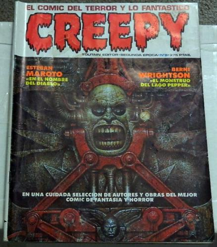 "Creepy #8 Vol. 2Spain - 1990""Pepper Lake Monster"""