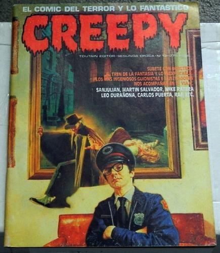 Creepy #13 Vol. 2Spain - 1990prints Creepy #71 w/ splash page