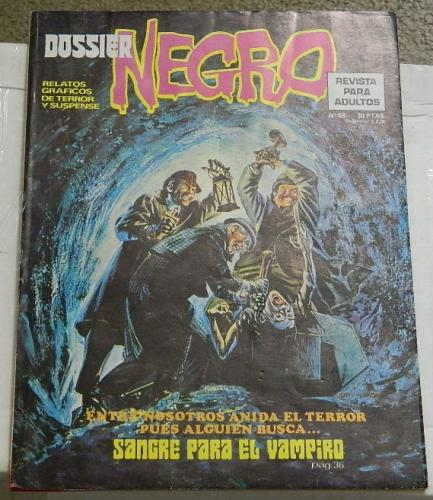 "Dossier Negro #68Spain - Jan. 1975""Night Fall"""