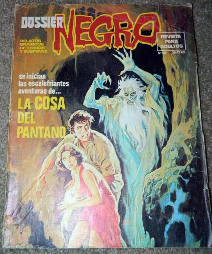 Dossier Negro #86Spain - 1976Swamp Thing #1