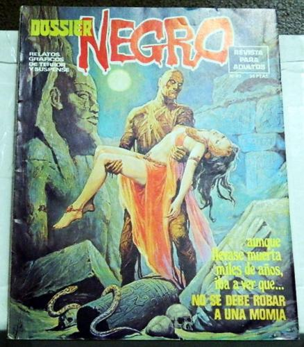 Dossier Negro #87Spain - Aug. 1976Swamp Thing #2